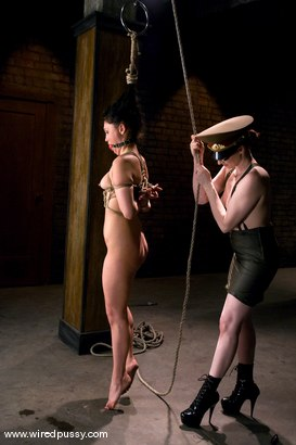 Photo number 6 from Claire Adams and Jade Indica shot for Wired Pussy on Kink.com. Featuring Claire Adams and Miss Jade Indica in hardcore BDSM & Fetish porn.