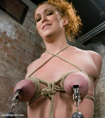Photo number 8 from Welcome Sabrina Fox, for her first Hogtied experience.<br> We love natural red heads. shot for Hogtied on Kink.com. Featuring Sabrina Fox in hardcore BDSM & Fetish porn.