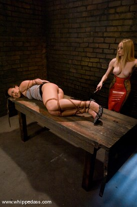 Photo number 3 from Jandi Lin shot for Whipped Ass on Kink.com. Featuring Aiden Starr and Jandi Lin in hardcore BDSM & Fetish porn.