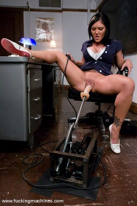 Photo number 3 from Claire Dames stretches wide for the machines shot for Fucking Machines on Kink.com. Featuring Claire Dames in hardcore BDSM & Fetish porn.