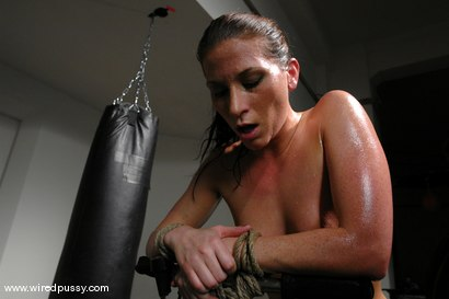 Photo number 4 from Exercise Torture shot for Wired Pussy on Kink.com. Featuring Ariel X and Tomcat in hardcore BDSM & Fetish porn.