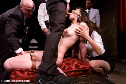 Photo number 11 from CLASSIC ARCHIVE SHOOT: MEMBER FAVORITE! Bobbi Starr Disgraced in the Armory shot for Public Disgrace on Kink.com. Featuring Princess Donna Dolore, Bobbi Starr, Billy and John Strong in hardcore BDSM & Fetish porn.