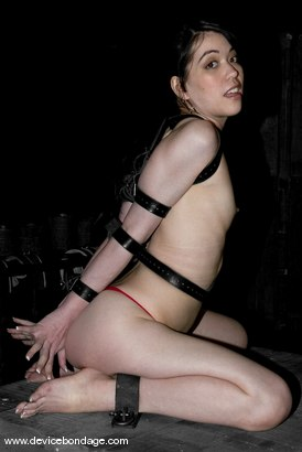 Photo number 3 from Member Idea #428: Tit Spikes shot for Device Bondage on Kink.com. Featuring Amie in hardcore BDSM & Fetish porn.