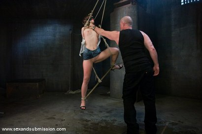 Photo number 4 from Amber Rayne shot for Sex And Submission on Kink.com. Featuring Mark Davis and Amber Rayne in hardcore BDSM & Fetish porn.