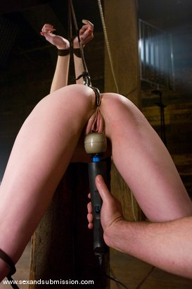 Photo number 6 from Berlin shot for Sex And Submission on Kink.com. Featuring Mark Davis and Mz Berlin in hardcore BDSM & Fetish porn.