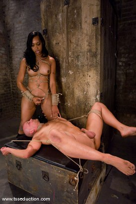 Photo number 14 from Sexy Jade, Chad Rock shot for TS Seduction on Kink.com. Featuring Sexy Jade and Chad Rock in hardcore BDSM & Fetish porn.