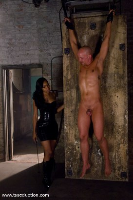 Photo number 3 from Sexy Jade, Chad Rock shot for TS Seduction on Kink.com. Featuring Sexy Jade and Chad Rock in hardcore BDSM & Fetish porn.