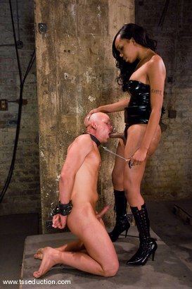 Photo number 7 from Sexy Jade, Chad Rock shot for TS Seduction on Kink.com. Featuring Sexy Jade and Chad Rock in hardcore BDSM & Fetish porn.