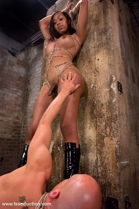 Photo number 8 from Sexy Jade, Chad Rock shot for TS Seduction on Kink.com. Featuring Sexy Jade and Chad Rock in hardcore BDSM & Fetish porn.