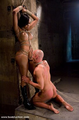 Photo number 9 from Sexy Jade, Chad Rock shot for TS Seduction on Kink.com. Featuring Sexy Jade and Chad Rock in hardcore BDSM & Fetish porn.