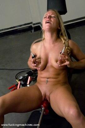 Photo number 7 from Ex-Marine, future pornstar - Dia Zerva shot for Fucking Machines on Kink.com. Featuring Dia Zerva in hardcore BDSM & Fetish porn.