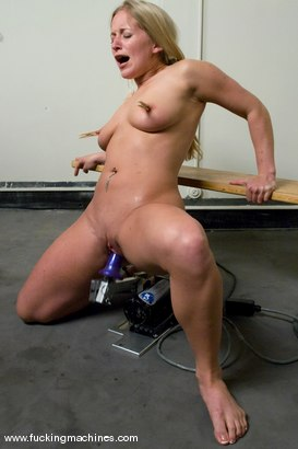 Photo number 14 from Ex-Marine, future pornstar - Dia Zerva shot for Fucking Machines on Kink.com. Featuring Dia Zerva in hardcore BDSM & Fetish porn.