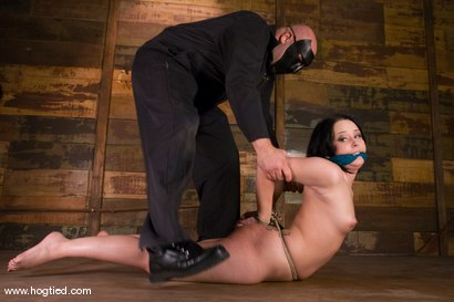 Photo number 3 from Welcome back Alexa Von Tess.  <br> Seriously, how cute can one girl get? shot for Hogtied on Kink.com. Featuring Alexa Von Tess and Sgt. Major in hardcore BDSM & Fetish porn.