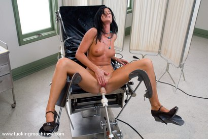 Photo number 5 from Porn Try outs - MILF hottie,  auditions for the machines shot for Fucking Machines on Kink.com. Featuring India Summer in hardcore BDSM & Fetish porn.