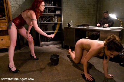 Photo number 2 from The Training of Charlotte Vale, Day Three shot for The Training Of O on Kink.com. Featuring Lobo, Billy, Mz Berlin and Charlotte Vale in hardcore BDSM & Fetish porn.