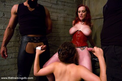 Photo number 9 from The Training of Charlotte Vale, Day Three shot for The Training Of O on Kink.com. Featuring Lobo, Billy, Mz Berlin and Charlotte Vale in hardcore BDSM & Fetish porn.