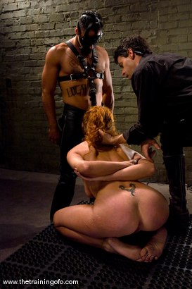 Photo number 14 from The Training of Sabrina Fox, Day One shot for The Training Of O on Kink.com. Featuring Sabrina Fox and Lobo in hardcore BDSM & Fetish porn.