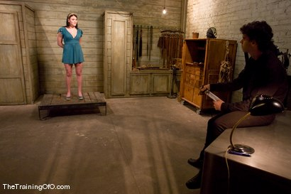 Photo number 1 from The Training of Raina Verene, Day One shot for The Training Of O on Kink.com. Featuring Raina Verene and Wolf Hudson in hardcore BDSM & Fetish porn.