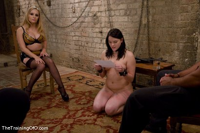 Photo number 6 from The Training of Raina Verene shot for The Training Of O on Kink.com. Featuring Raina Verene, Lobo and Aiden Starr in hardcore BDSM & Fetish porn.
