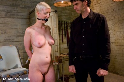 Photo number 2 from The Training of Cherry Torn, Day One shot for The Training Of O on Kink.com. Featuring Cherry Torn and Maestro in hardcore BDSM & Fetish porn.