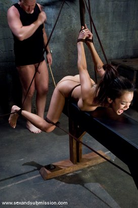 Photo number 11 from Daisy Marie shot for Sex And Submission on Kink.com. Featuring Daisy Marie and Mark Davis in hardcore BDSM & Fetish porn.