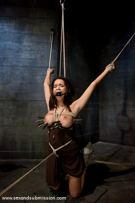 Photo number 2 from Daisy Marie shot for Sex And Submission on Kink.com. Featuring Daisy Marie and Mark Davis in hardcore BDSM & Fetish porn.