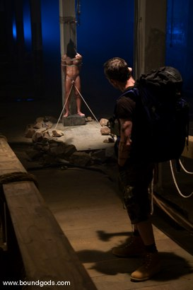 Photo number 1 from The Hiker shot for Bound Gods on Kink.com. Featuring Chad Hunt and Dominik Rider in hardcore BDSM & Fetish porn.