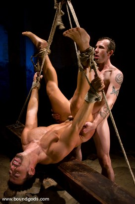 Photo number 10 from The Hiker shot for Bound Gods on Kink.com. Featuring Chad Hunt and Dominik Rider in hardcore BDSM & Fetish porn.