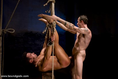 Photo number 9 from The Hiker shot for Bound Gods on Kink.com. Featuring Chad Hunt and Dominik Rider in hardcore BDSM & Fetish porn.