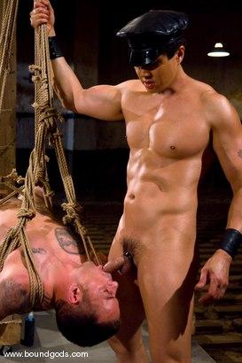 Photo number 12 from Master Van Darkholme and slave finn damion shot for Bound Gods on Kink.com. Featuring Van Darkholme and Finn Damion in hardcore BDSM & Fetish porn.