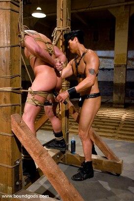 Photo number 8 from Master Van Darkholme and slave finn damion shot for Bound Gods on Kink.com. Featuring Van Darkholme and Finn Damion in hardcore BDSM & Fetish porn.