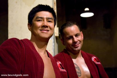 Photo number 15 from Master Van Darkholme and slave finn damion shot for Bound Gods on Kink.com. Featuring Van Darkholme and Finn Damion in hardcore BDSM & Fetish porn.