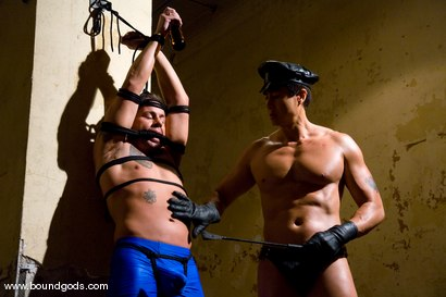 Photo number 1 from Master Van Darkholme and slave finn damion shot for Bound Gods on Kink.com. Featuring Van Darkholme and Finn Damion in hardcore BDSM & Fetish porn.
