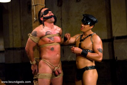 Photo number 6 from Master Van Darkholme and slave finn damion shot for Bound Gods on Kink.com. Featuring Van Darkholme and Finn Damion in hardcore BDSM & Fetish porn.
