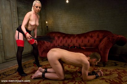 Photo number 8 from 200 Whacks shot for Men In Pain on Kink.com. Featuring Nomad and Lorelei Lee in hardcore BDSM & Fetish porn.