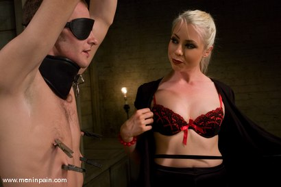 Photo number 3 from 200 Whacks shot for Men In Pain on Kink.com. Featuring Nomad and Lorelei Lee in hardcore BDSM & Fetish porn.