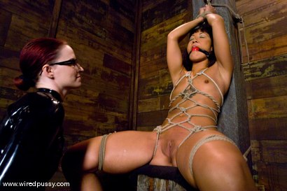 Photo number 5 from Don't worry, it's just a little electricity! shot for Wired Pussy on Kink.com. Featuring Jandi Lin and Claire Adams in hardcore BDSM & Fetish porn.