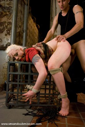 Photo number 7 from Lorelei Lee shot for Sex And Submission on Kink.com. Featuring Mr. Pete and Lorelei Lee in hardcore BDSM & Fetish porn.