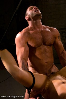 Photo number 12 from Master Tober Brandt and slave chet. shot for Bound Gods on Kink.com. Featuring Chet Walker and Tober Brandt in hardcore BDSM & Fetish porn.