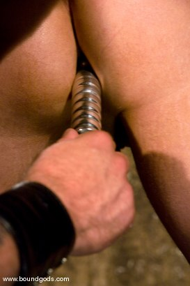 Photo number 10 from Master Tober Brandt and slave chet. shot for Bound Gods on Kink.com. Featuring Chet Walker and Tober Brandt in hardcore BDSM & Fetish porn.