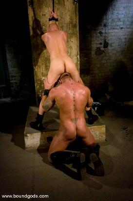 Photo number 8 from Master Tober Brandt and slave chet. shot for boundgods on Kink.com. Featuring Chet Walker and Tober Brandt in hardcore BDSM & Fetish porn.