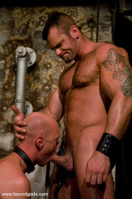 Photo number 4 from Master Tober Brandt and slave chet. shot for Bound Gods on Kink.com. Featuring Chet Walker and Tober Brandt in hardcore BDSM & Fetish porn.