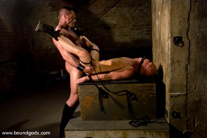 Photo number 14 from Master Tober Brandt and slave chet. shot for Bound Gods on Kink.com. Featuring Chet Walker and Tober Brandt in hardcore BDSM & Fetish porn.