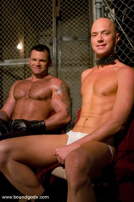 Photo number 15 from Master Tober Brandt and slave chet. shot for Bound Gods on Kink.com. Featuring Chet Walker and Tober Brandt in hardcore BDSM & Fetish porn.