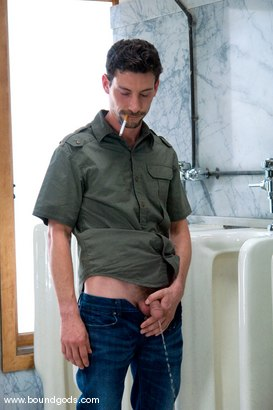 Photo number 1 from The Creepy Janitor and The Asshole shot for Bound Gods on Kink.com. Featuring Eddy and Rod Barry in hardcore BDSM & Fetish porn.