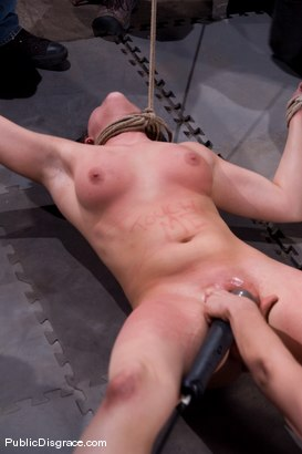 Photo number 13 from First Timer shot for Public Disgrace on Kink.com. Featuring Raina Verene and Maestro in hardcore BDSM & Fetish porn.