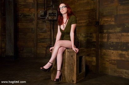 Photo number 1 from Red head with massive huge tits?<br>Then it must be Berlin. We love a girl who loves bondage. shot for Hogtied on Kink.com. Featuring Mz Berlin in hardcore BDSM & Fetish porn.
