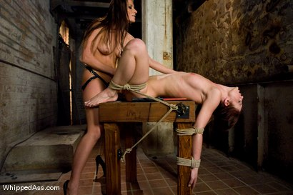 Photo number 14 from Riley Shy and Ariel X shot for Whipped Ass on Kink.com. Featuring Ariel X and Riley Shy in hardcore BDSM & Fetish porn.