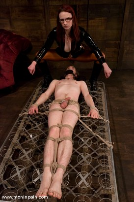 Photo number 6 from Miss Adams shot for Men In Pain on Kink.com. Featuring Kade, Claire Adams and Riley Shy in hardcore BDSM & Fetish porn.