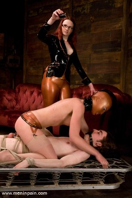 Photo number 14 from Miss Adams shot for Men In Pain on Kink.com. Featuring Kade, Claire Adams and Riley Shy in hardcore BDSM & Fetish porn.